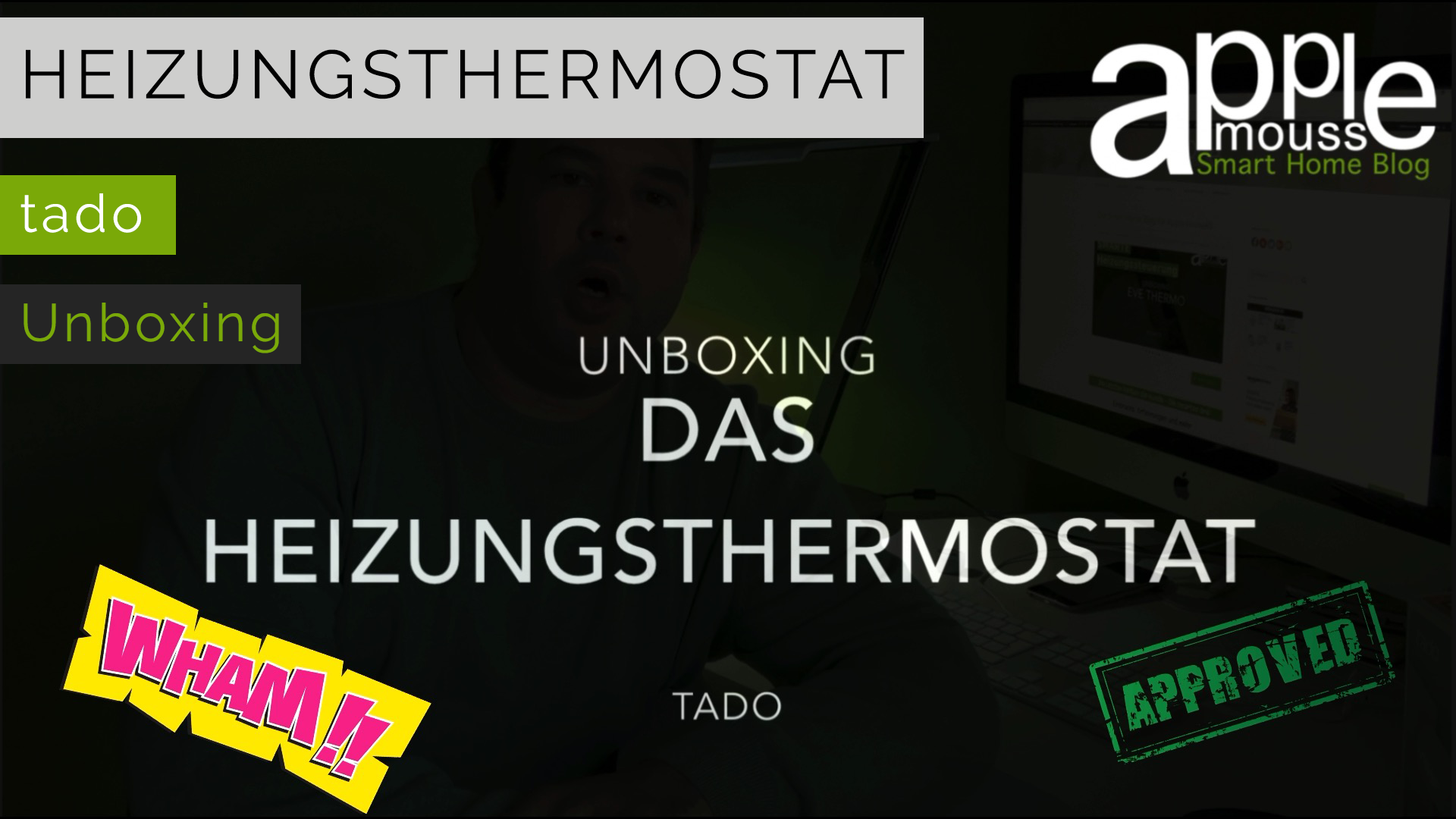 smart home blog f r apple homekit tado heizungsthermostat unboxing. Black Bedroom Furniture Sets. Home Design Ideas